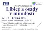 Výstava Libice a osady v minulosti