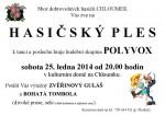 Ples SDH Chloumek 2014